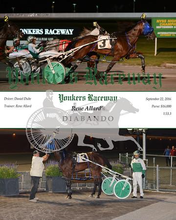 20160922 Race 9- Diabando