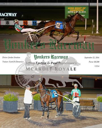 20160922 Race 1- Mcardle Royale N