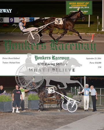 09232016 Race 5- What I Believe