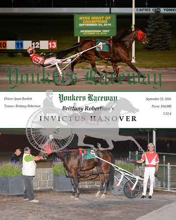 09232016 Race 4- Invictus Hanover