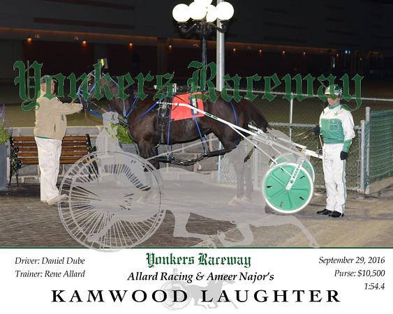20160929 Race 5- Kamwood Laughter N