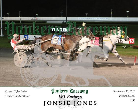 20160930 Race 12- Jonsie Jones