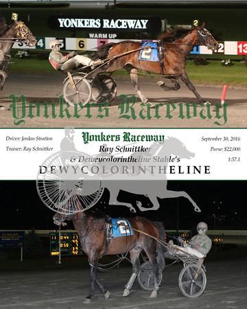 20160930 Race 11- Dewycolorintheline