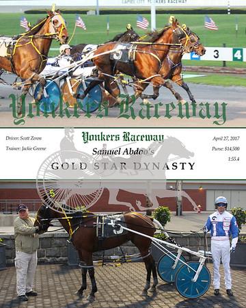 20170427 Race 1- Gold Star Dynasty