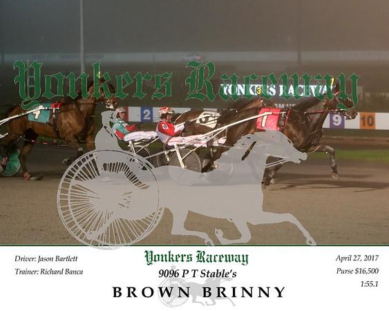 20170427 Race 8- Brown Brinny