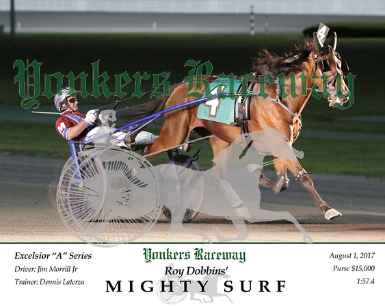 08012017 Race 5- Mighty Surf