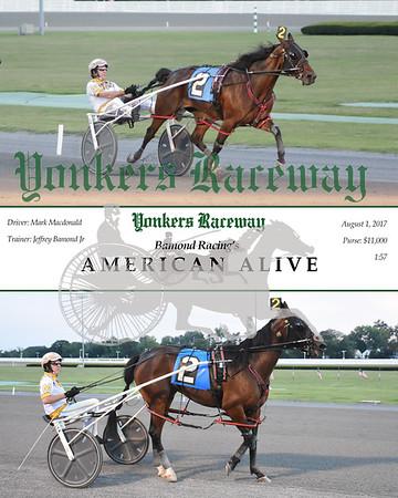 08012017 Race 3- American Alive