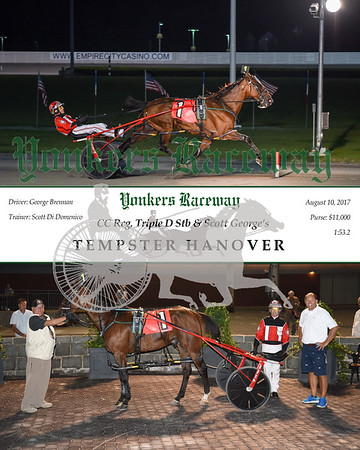 20170810 Race 6- Tempster Hanover