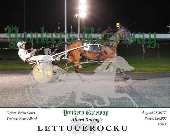 20170818 Race 9- Lettucerocku