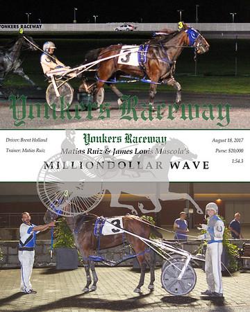 20170818 Race 8- Milliondollar Wave