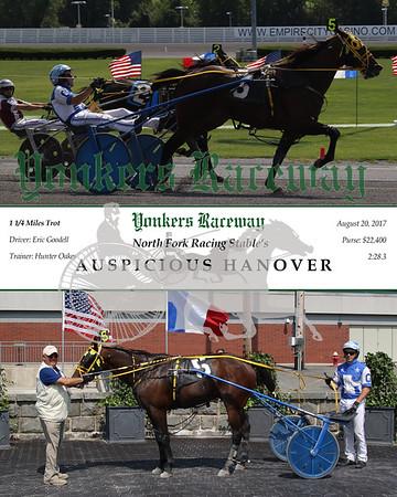 20170820 Race 5- Auspicious Hanover