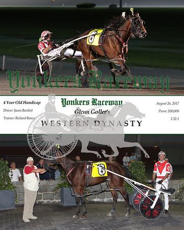 20170826 Race 5- Western Dynasty