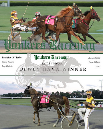 20170808 Race 3- Dewey Hava Winner