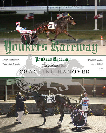 20171212 Race 11- Chaching Hanover