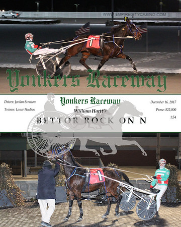 20171216 Race 8- Bettor Rock On N