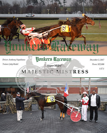 20171203 Race 11- Majestic Mistress