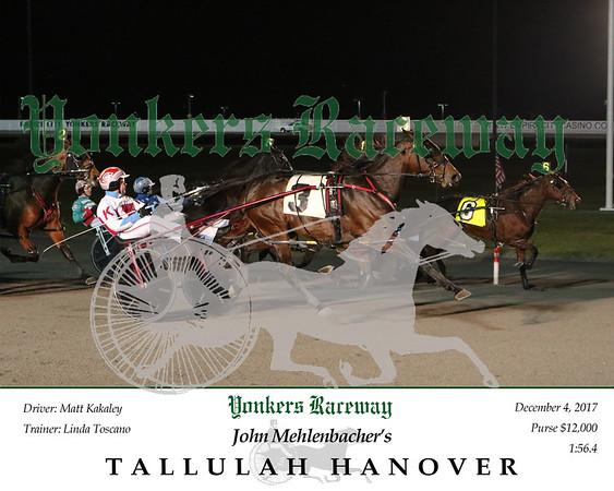 20171204 Race 2- Tallulah Hanover 2