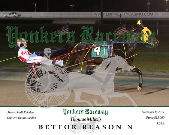 20171208 Race 2- Bettor Reason N 2
