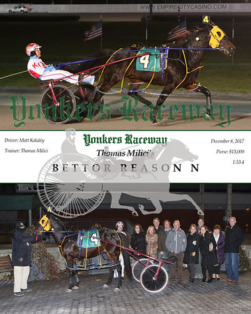 20171208 Race 2- Bettor Reason N