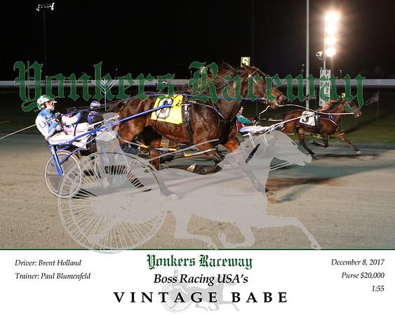 20171208 Race 8- Vintage Babe
