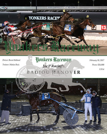 20170210 Race 8- Badiou Hanover