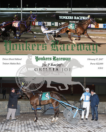 20170217 Race 8- Orillia Joe