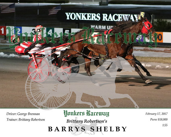 20170217 Race 1- Barrys Shelby 2
