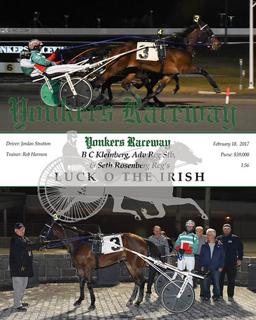20170218 Race 9- Luck O The Irish
