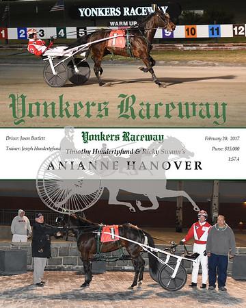 02202017 Race 1-Anianne Hanover