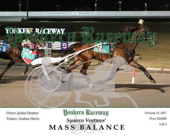 20170221 Race 6- Mass Balance