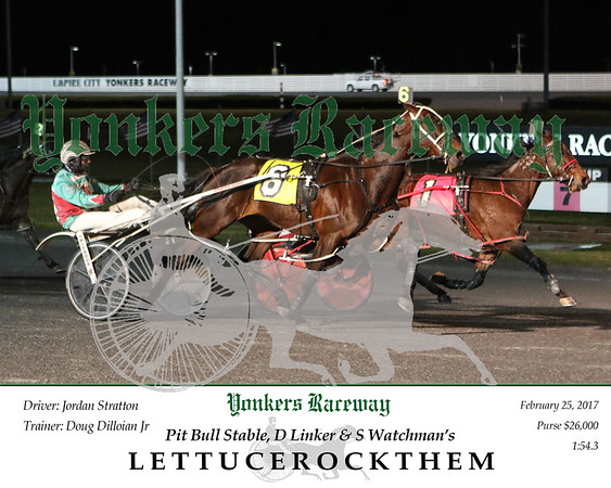 20170225 Race 5- Lettucerockthem A