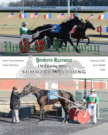 20170226 Race 7- Summers Windsong