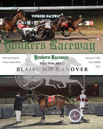 02272017 Race 11-Blaise MM Hanover