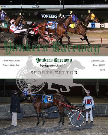 20170204 Race 8- Sports Bettor