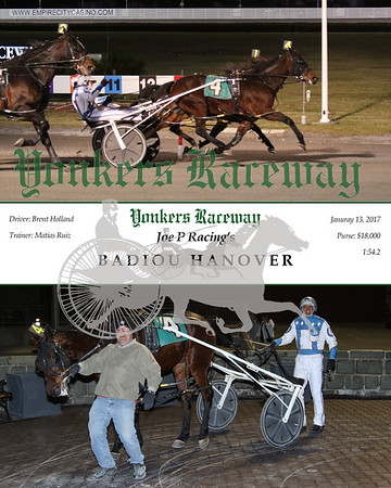 20170113 Race 10- Badiou Hanover