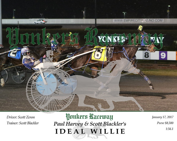 20170117 Race 1- Ideal Willie 2