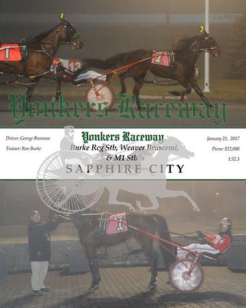 20170121 Race 8- Sapphire City