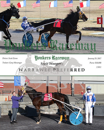 20170129 Race 6- Warrawee Preferred