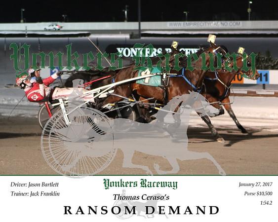 20170131 Race 10- Ransom Demand 2
