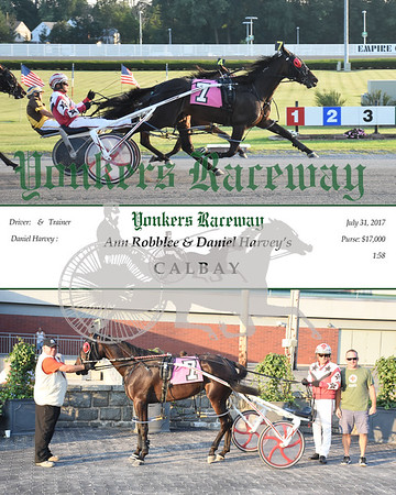 07312017 Race 1- Calbay