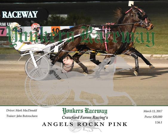 03132017 Race 5-Angels Rock Pink