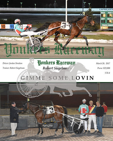 03202017 Race 8-Gimme Some Lovin
