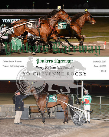 20170321 Race 8- Yo Cheyenne Rocky