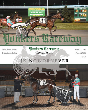 03272017 Race 3-JK Nowornever