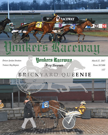 03272017 Race 1-Brickyard Queenie