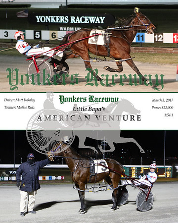 20170303 Race 9- American Venture 2