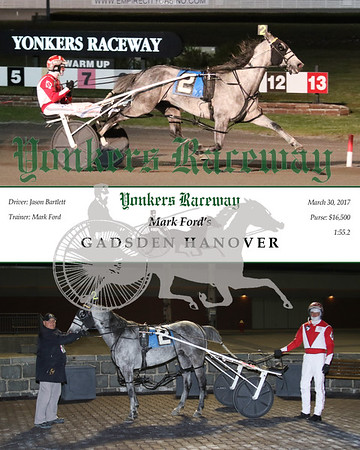 20170330 Race 6- Gadsden Hanover