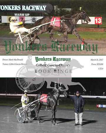 20170331 Race 8- Book Binge
