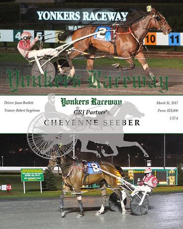 20170331 Race 9- Cheyenne Seeber