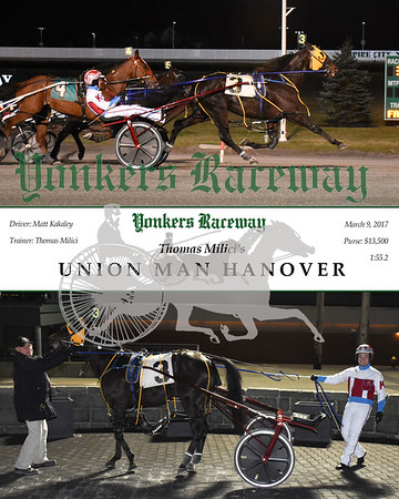 20170309 Race 3- Union Man Hanover